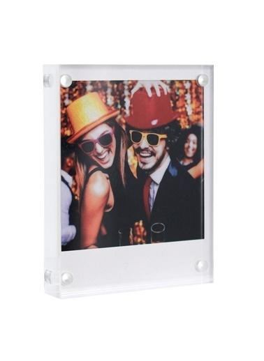 Fujifilm Instax Square Kare Film Uyumlu Pleksi Resim Çerçevesi Renkli